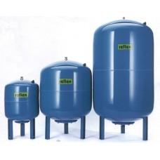 Мембранный бак д/систем гор. водоснабжения DE 60/10, G 1, синий