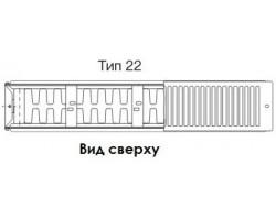 Радиатор Buderus K-Profil тип 22